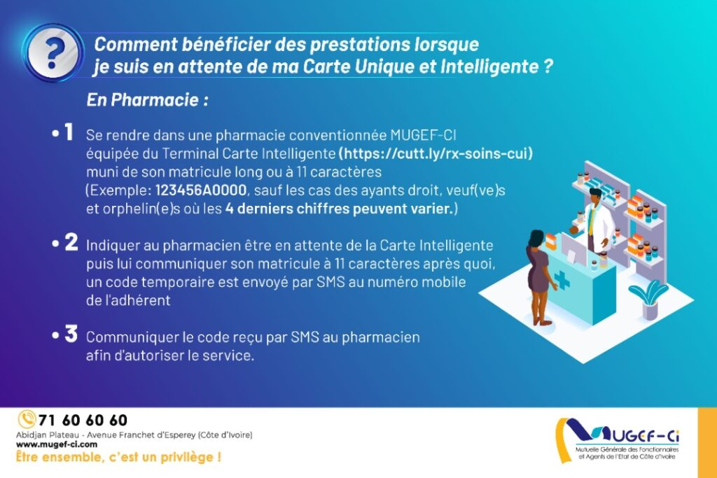 Prescription sans carte en pharmacie